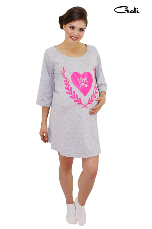 "Платье домашнее ""Love Pink"""